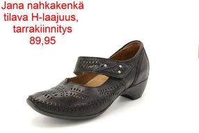 Caprice sandaalit H laajuus musta Kenkäliike.fi verkkokauppa